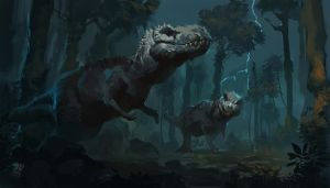 Dinosaur Kings by Raph04art