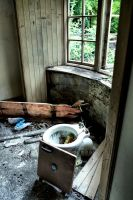 Glencoe: Abandoned House III by basseca