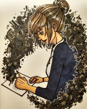 Kate Marsh by tiredtshirt