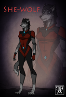 She Wolf by KingLeonUniverse by HewyToonmore