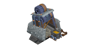 Clash of Clans - Gold mine WIP by Snufbat