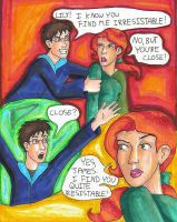 Lily and James comic by bachel60