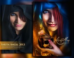 BEFORE AND AFTER : Lady of Magic by saritaangel07