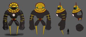 Concept - Incan Elemental by fivetinsoldiers