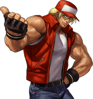 Terry Bogard by geos9104