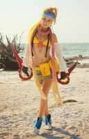 Rikku Print by CosplayDeviants