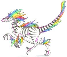 Prism Raptor by CaptainMorwen