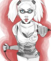 Quick Sketch: Harley by toffee-owl