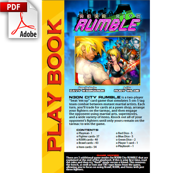 N30N City RUMBLE Playbook by DavyWagnarok