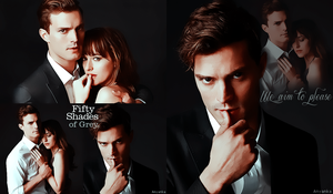 50 shades of Grey first look by theanyanka