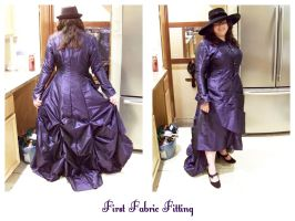 First Fabric Fitting by taeliac