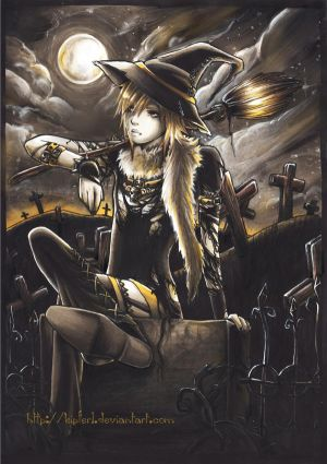 uruha version mangas The_witch_URUHA_by_kipferl