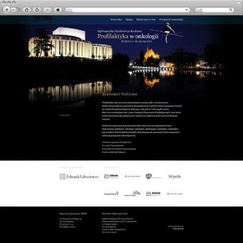 Oncology Conference Poland by formvsfunction