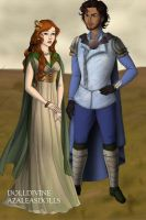 Evey and Byron by Alaminia