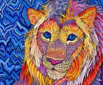 Kaleidoscopic King by PaintMyWorldRainbow