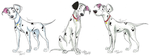 101 Dalmatians Grown-Up Pups part 5 by Stray-Sketches