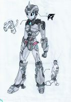 Transformers Prime OCs: Genia Redesign(Complete) by Mystic2760