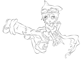 Scout Line Art by Shulky