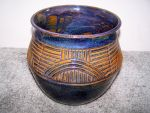 Large Carved Blue Bowl 2 by RenaissanceMan1