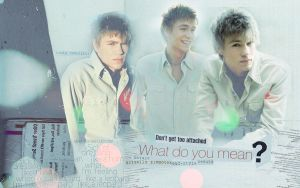 Chad Michael Murray Wallpaper by textureclad