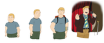 Bobby Hill- Age Chart by Orangephoenix6