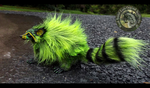 Hand Made Poseable Fantasy Raccoon! by Wood-Splitter-Lee