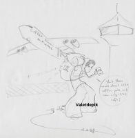 Leo is travelling by Valetdepik