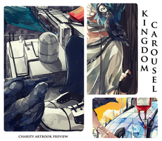 Kingdom Carousel Artbook Preview by Daenarys