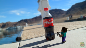 Steve Finds Coca Cola by Deku-Gamer-DA