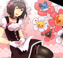 HC Calendar: MOE MAID MAY DESU by chewypickles
