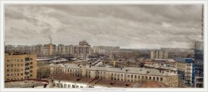Panorama of Ekaterinburg by Serrgeon