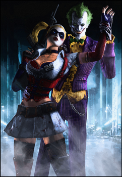 The Clowns of Crime by Urbanator