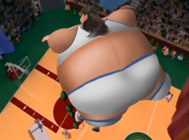 Kristina inflates 2 (Space Jam Style) by JuacoProductionsArts