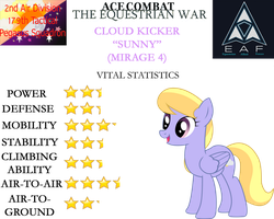 Ace Combat: The Equestrian War - Cloud Kicker by SonictheHedgehogPL