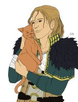 Anders and kitten by PetiteLilen