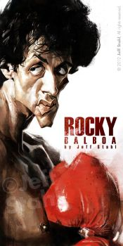 ROCKY, by Jeff Stahl by JeffStahl