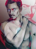 Tony Stark by zillahstardust