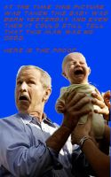This Baby Knows That George W. Bush Is Bad by CayQel-Dromathegood1