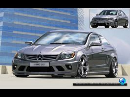 Mercedes-Benz C63 AMG by CapiDesign