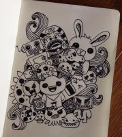 Character Doodle by Paper-Pen-Pattern