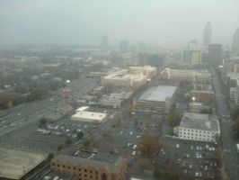 Over Downtown Atlanta by WhyPiggieWhy