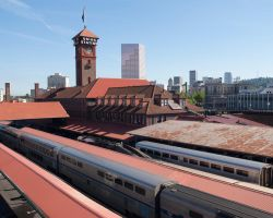Overlooking Union Station by AngelND