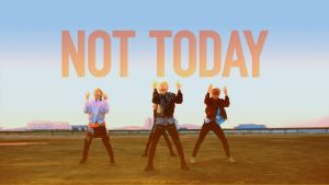 BTS   Not Today [WALLPAPER] by itsyesi