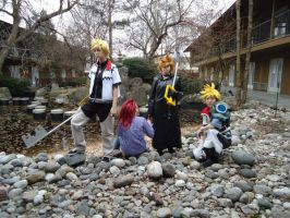 Kingdom Hearts Group by ElectricVISUALS
