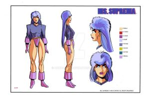 Ms. Suprema Character Sheet by nickcaponi