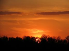 Zoomed in Sunset by Michies-Photographyy