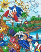 CE: Happy Birthday Sonic!! by SupaSilver