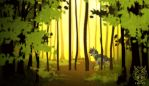 Lush woods by ScraptorProductions