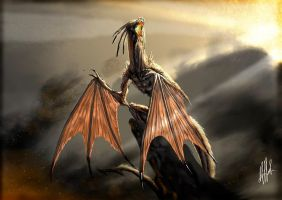 Rise of dragon by alexeuses