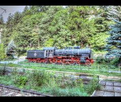 Steam loco... by Iulian-dA-gallery